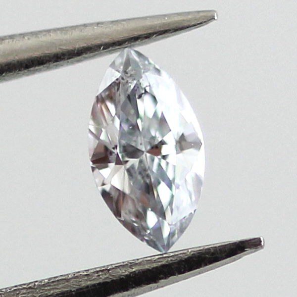 Fancy Light Greenish Blue Diamond, Marquise, 0.07 carat