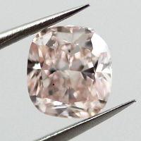 Fancy Light Orangy Pink, 0.53 carat