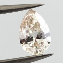 Fancy Light Pink Brown, 0.37 carat, VS2