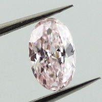 Fancy Light Pink, 0.31 carat, SI1