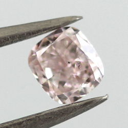 Fancy Light Pink, 0.27 carat, SI2
