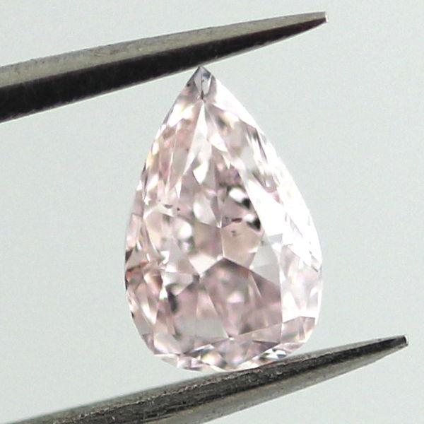 Fancy Light Pink Diamond, Pear, 0.50 carat, SI2