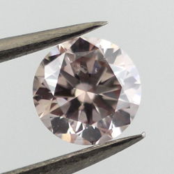 Fancy Light Pinkish Brown, 0.51 carat