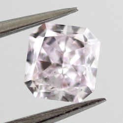 Fancy Light Pinkish Purple, 0.55ct, SI1