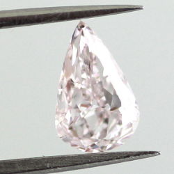 Fancy Light Purplish Pink, 0.70 carat, SI2