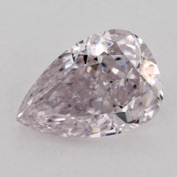 Fancy Light Purplish Pink Diamond, Pear, 0.51 carat, SI1