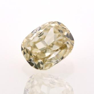 Fancy Light Yellow Brown, 0.71 carat, VS1