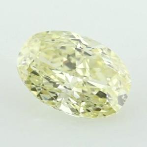 Fancy Light Yellow, 3.03 carat