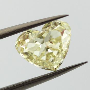 Fancy Light Yellow, 2.03 carat, VS2