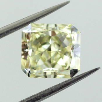 Fancy Light Yellow, 2.03 carat, VS1