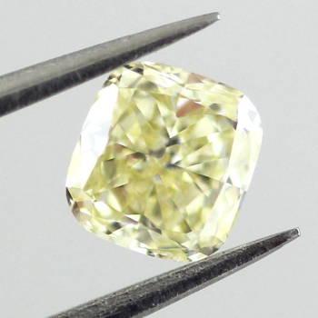 Fancy Light Yellow, 0.46 carat, IF