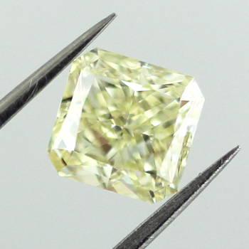 Fancy Light Yellow, 1.50 carat, VS1