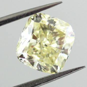 Fancy Light Yellow, 1.71 carat, SI1