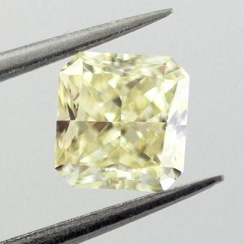 Fancy Light Yellow, 1.04 carat, VS1