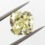 Fancy Light Yellow, 3.61 carat, VS2