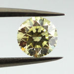 Fancy Light Yellow, 0.51 carat, VS2