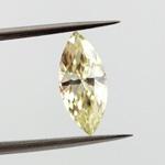Fancy Light Yellow, 0.91 carat, VVS1