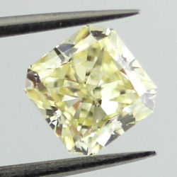 Fancy Light Yellow, 1.00 carat, SI1