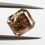 Fancy Orange Brown, 2.01 carat, VS2