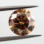 Fancy Orange Brown, 1.28 carat, SI1