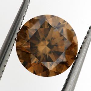 Fancy Orange Brown, 0.81 carat, VS2