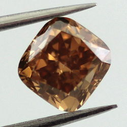 Fancy Orange Brown, 1.26 carat, SI1