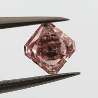 Fancy Orangy Pink, 0.41 carat, VS2