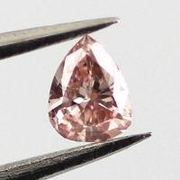 Fancy Orangy Pink, 0.09 carat