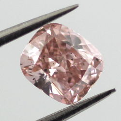 Fancy Orangy Pink, 0.51 carat, SI1