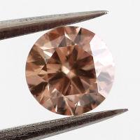 Fancy Pink Brown, 0.32 carat, SI2