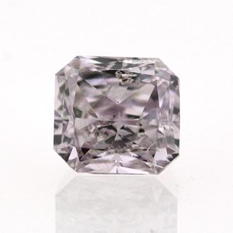 Fancy Pink Purple, 0.42 carat, SI2