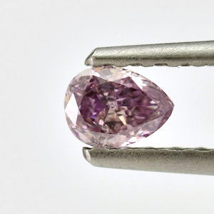 Fancy Pink Purple, 0.20 carat, I1