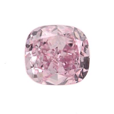 Fancy Pink Diamond, Cushion, 0.31 carat, SI2
