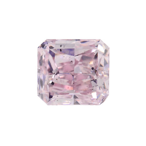 Fancy Pink Diamond, Radiant, 0.31 carat, SI1