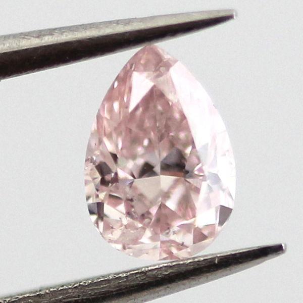 Fancy Pink Diamond, Pear, 0.21 carat