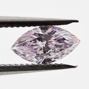 Fancy Purple Pink, 0.28 carat, VS2