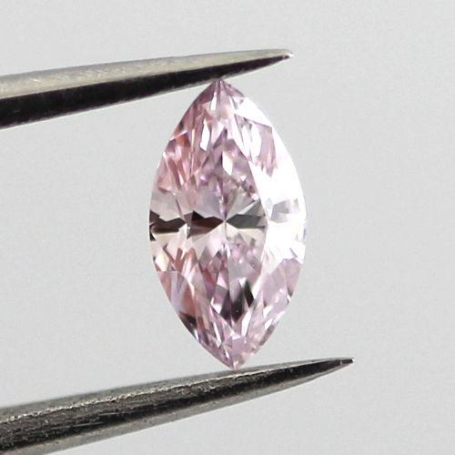 Fancy Purple Pink Diamond, Marquise, 0.21 carat, VS1