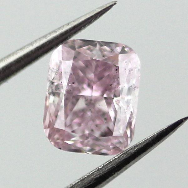 Fancy Purple Pink Diamond, Cushion, 0.54 carat, I1