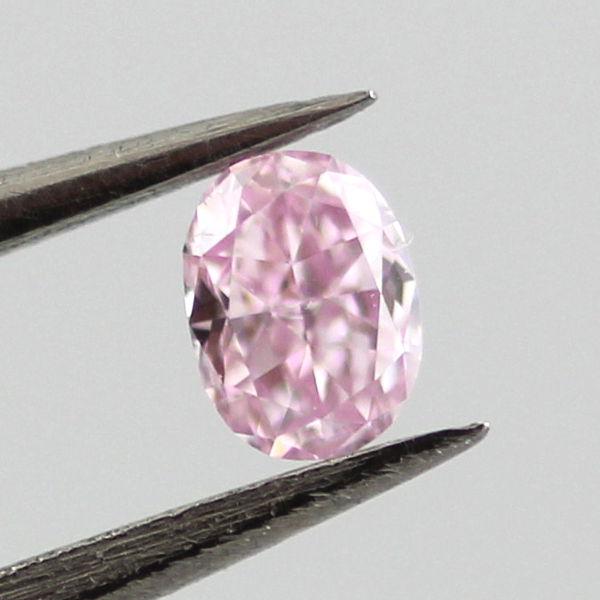 Fancy Purple Pink Diamond, Oval, 0.10 carat