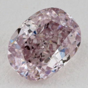 Fancy Purple Pink, 0.30 carat, SI2