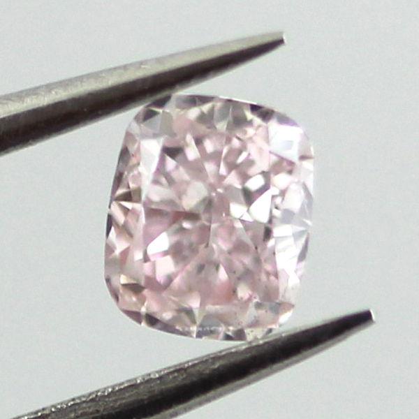 Fancy Purple Pink Diamond, Cushion, 0.24 carat, SI1