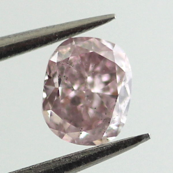 Fancy Purple Pink Diamond, Cushion, 0.23 carat