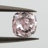 Fancy Purplish Pink, 0.54 carat, SI1