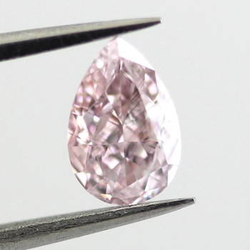 Fancy Purplish Pink, 0.50 carat, VS1