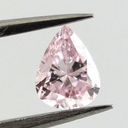 Fancy Purplish Pink, 0.19 carat, I1