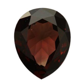 Fancy Reddish Brown Diamond, Pear, 0.66 carat, SI2