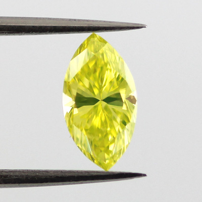 Yellow Diamond Fancy Vivid Greenish Yellow 0 60 Carat