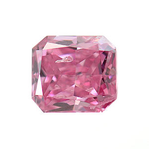 Fancy Vivid Purplish Pink, 0.10 carat