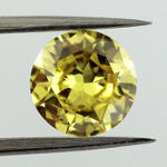 Fancy Vivid Yellow, 1.01 carat, SI1