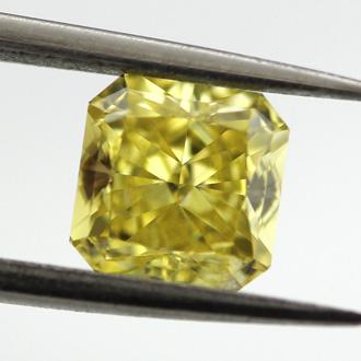 Fancy Vivid Yellow, 1.04 carat, SI2